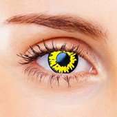 Yellow Twilight Contact Lenses