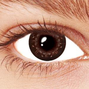 Black Crystal Contact Lenses