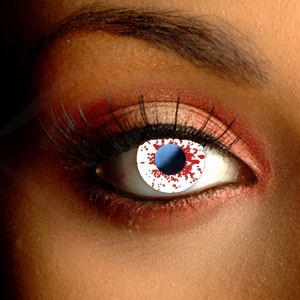 Blood Splat Cosplay Contacts