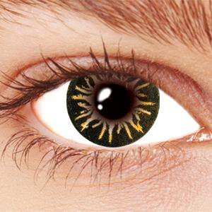 Brown Party Circle Contact Lenses