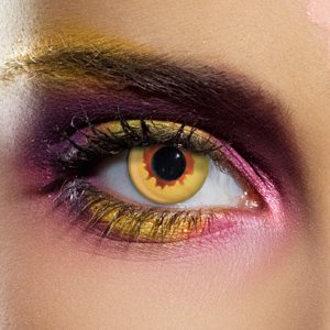 Gold Vampire Contact Lenses (Pair)