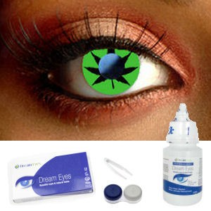 Green Leaf Cannabis Contacts Complete Set