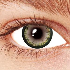 Green Starfire Contact Lenses