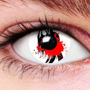Halloween Slasher Contact Lenses