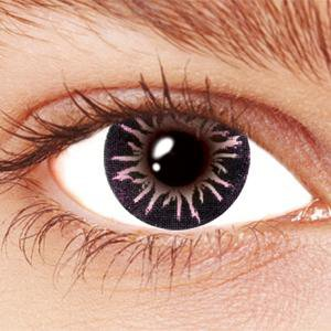 Pink Party Circle Contact Lenses
