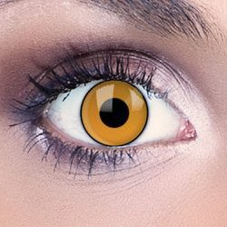 Deep Orange Sunset Contact Lenses