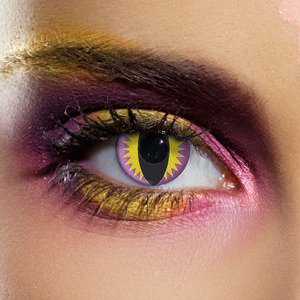 Purple Dragon Contact Lenses (Pair)