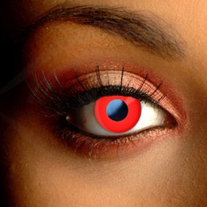 Red Cosplay Contacts