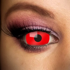 Red Mini Sclera 17mm Contact Lenses