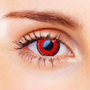 Red Twilight Contact Lenses