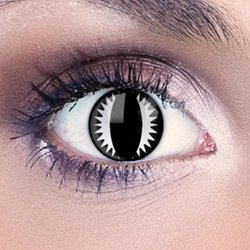 Spooky Vader Contact Lenses