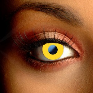 Yellow Halloween Contacts